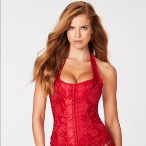 Red corset - Halloween ready!